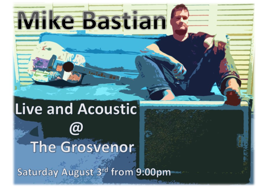 Mike Bastian at the Grosvenor Hotel - entertainment Victor Harbor