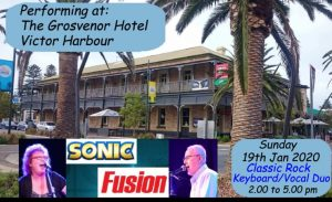 Sunday afternoon sessions at Grosvenor Hotel Victor Harbor